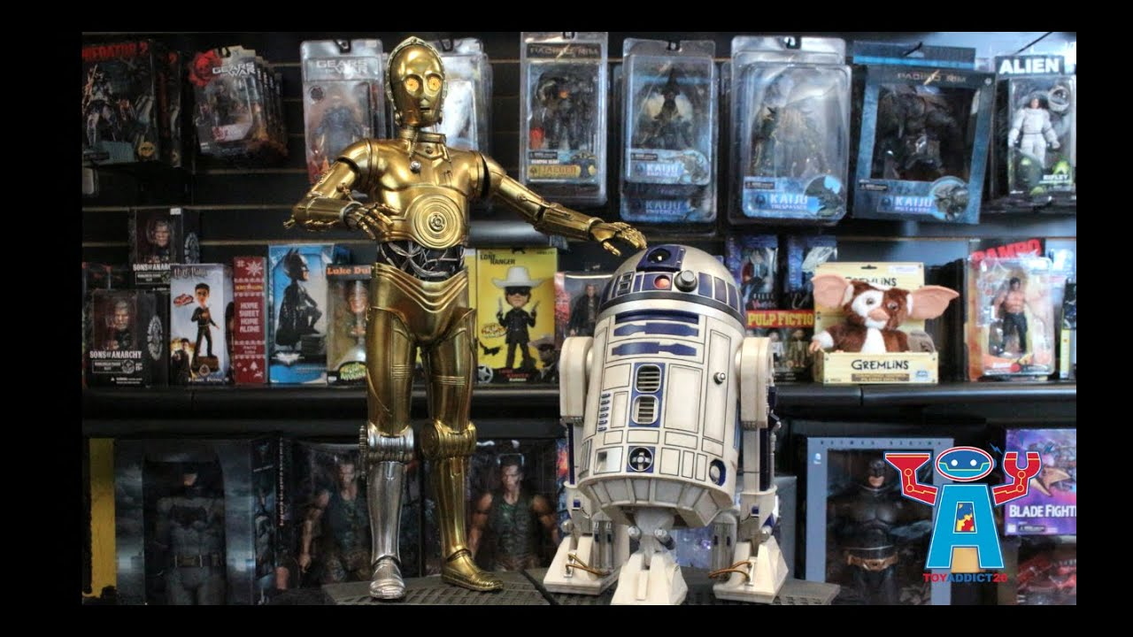 R2d2 And C3po Star Wars C-3PO and R2...
