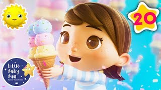Ice Cream Song + Many More! | BRAND NEW | Nursery Rhymes | Little Baby Morning thumbnail