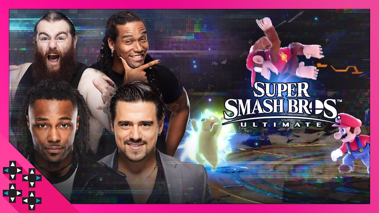 "Download Super Smash Bros. Ultimate: Maddin, Garza, ""Swerve"" Scott, Dain, and Sexton: LRLR #13"