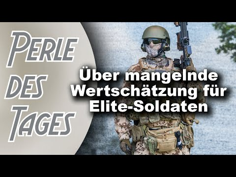 Bundeswehr-Spezialeinheit KSK wird zum Teil aufgelöst (Perle 347)