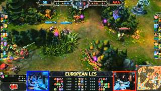SK Gaming vs Against All Authority LCS 2013 EU Spring W4D1 FULL GAME