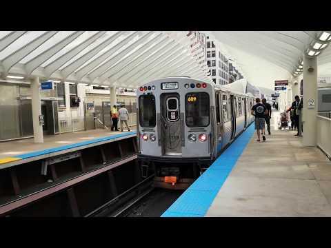 Viajamos por The Loop (Metro de Chicago) | AUDIOVISOR