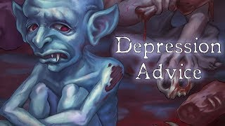 Depression Advice from American McGee