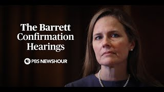 WATCH: Judge Amy Coney Barrett Supreme Court confirmation hearings - Day 1