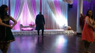 Fun Bollywood Dance for Meenakshi's Wedding Celebrations March 2015