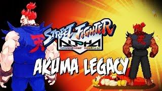 THE FIRST RAGING DEMON - Akuma Legacy: Street Fighter Alpha