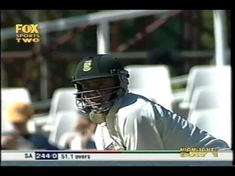 Graeme Smith 151 & Herschelle Gibbs 228 vs Pakistan 2002/03 2nd test Cape Town