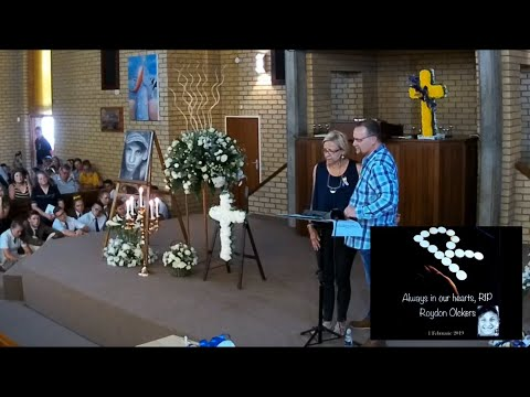 8/2/2019 - Regstreeks - Begrafnis Diens van Roydon Olckers (Hoërskool Driehoek)