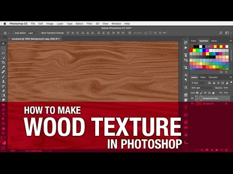 How To Make Wood Texture In Photoshop