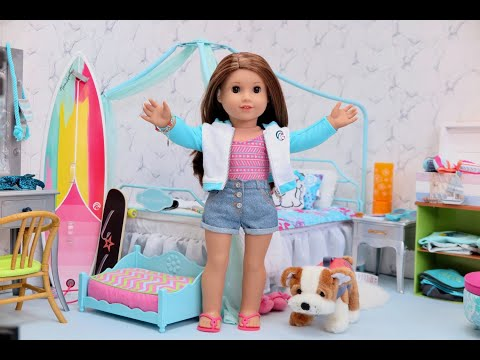 Girl Of The Year Joss Bedroom ~ American Girl Doll