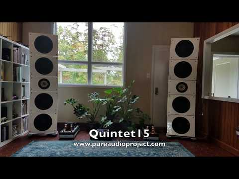 PureAudioProject Quintet15 - YouTube