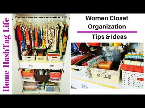 Women Closet Organization Ideas & Tips | Organize Wardrobe Like A Pro!