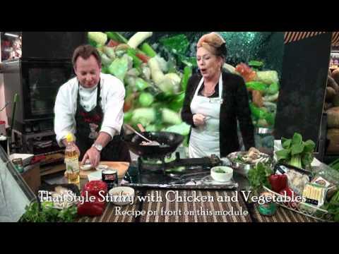 Thai stirfry Chicken and Vegetables