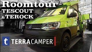 Roomtour TerraCamper TESCOUT & TEROCK | wirsehnunsunterwegs