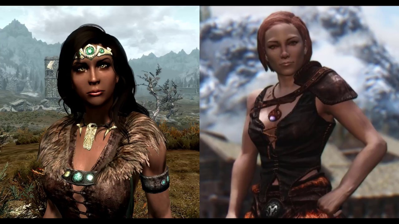 Hott interesting npcs at skyrim nexus mods and community.