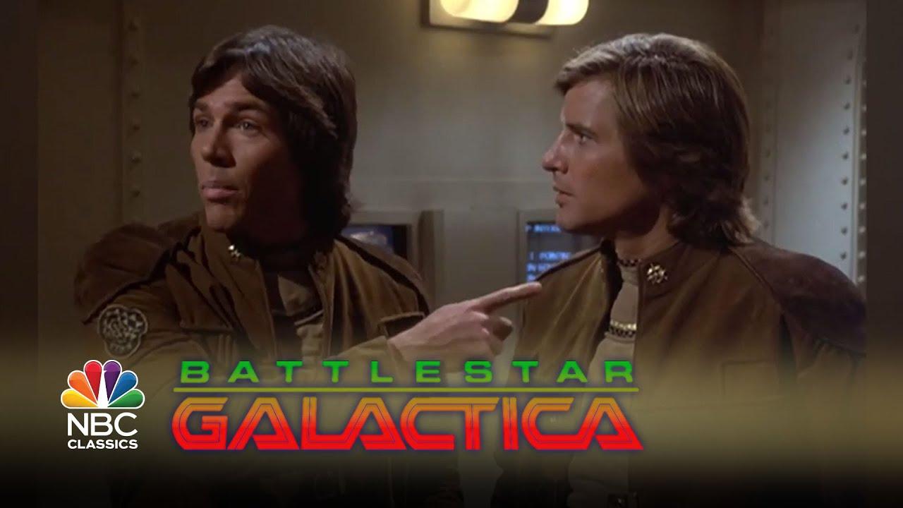 Starbuck Battlestar Galactica >> Battlestar Galactica - Apollo and Starbuck: Soul Mates | NBC Classics - YouTube