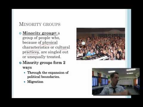 Sociology Lesson 14- Race, Ethnicity and the Social Structure