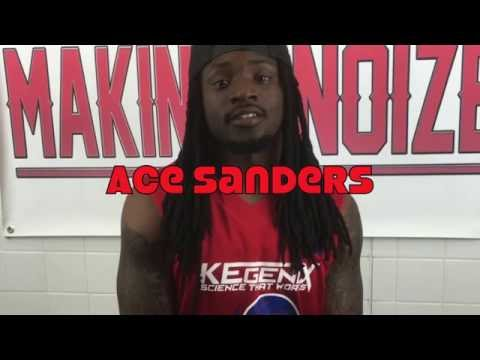 MakinNoizeTv: DeKulture Clothing owner Ace Sanders celebrity basketball game interview (audio)