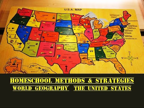 Homeschool  -  World Geography  -  USA