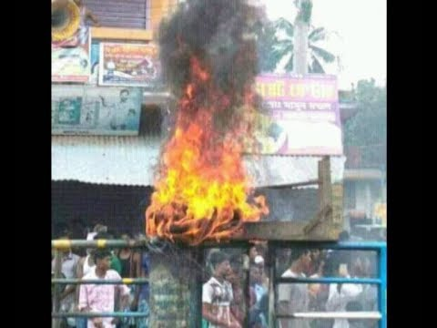 FB post and then communal violence leave West Bengal town scarred