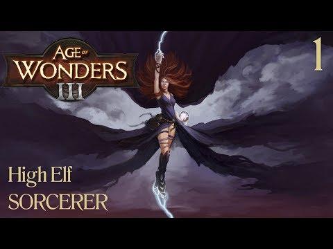 Age of Wonders 3 | High Elf Sorcerer - 1