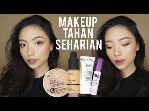 Makeup Tahan Seharian! MY TRAVEL MAKEUP | Gelangelicca
