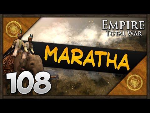 BREAKING BOSTON! Empire Total War: Darthmod - Maratha Confederacy Campaign #108