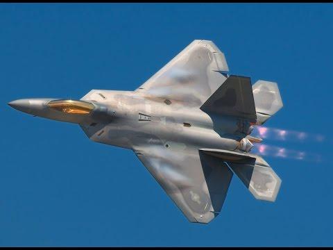 2015 Abbotsford Airshow F-22 Raptor Twilight Demo