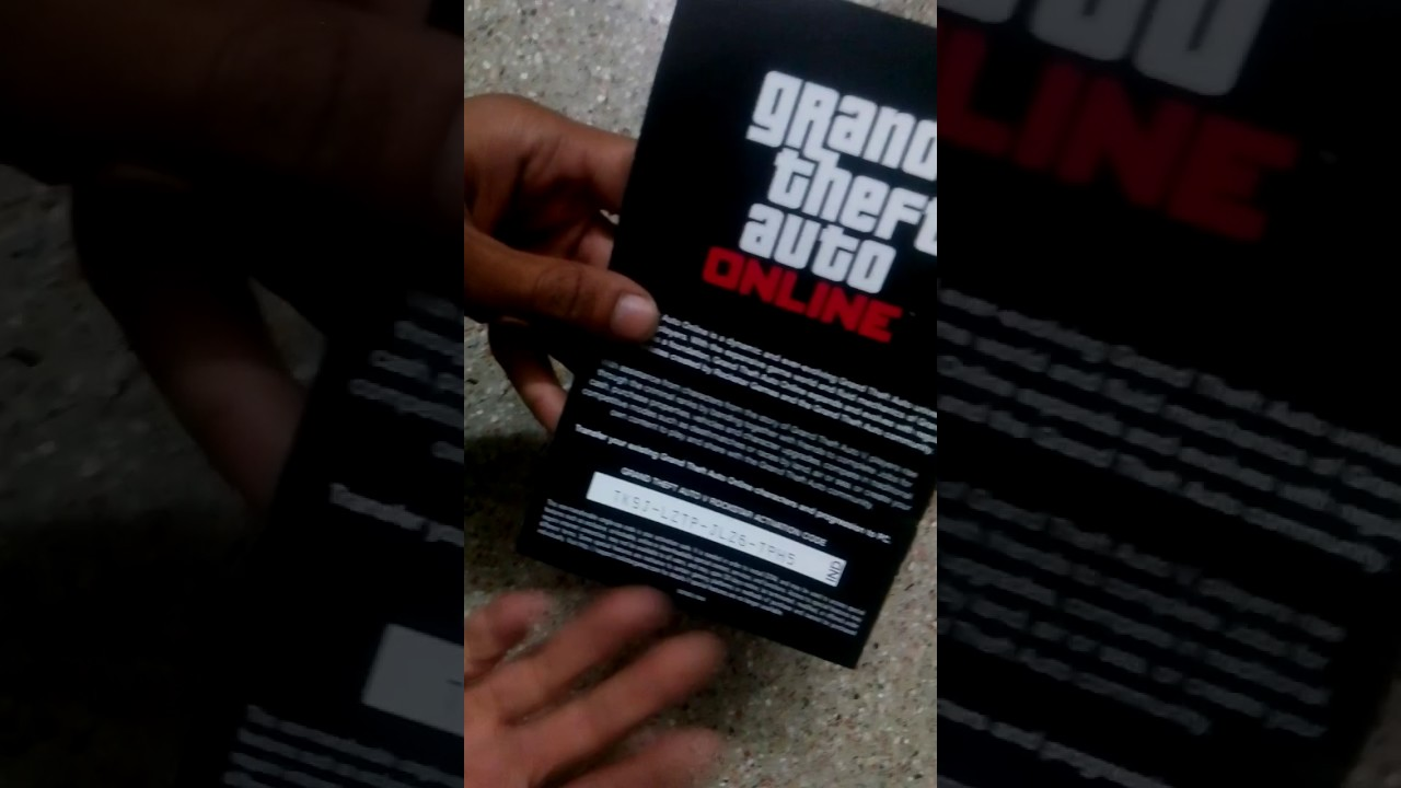 code activation gta 5 pc online