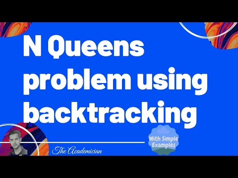 N Queens problem using backtracking with C program