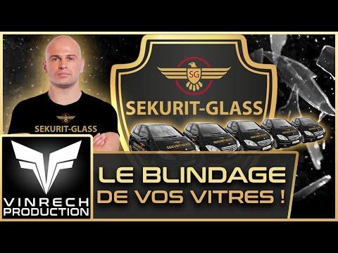 SEKURIT-GLASS Blinder vos vitres ! Vidéo par VINRECH 3D