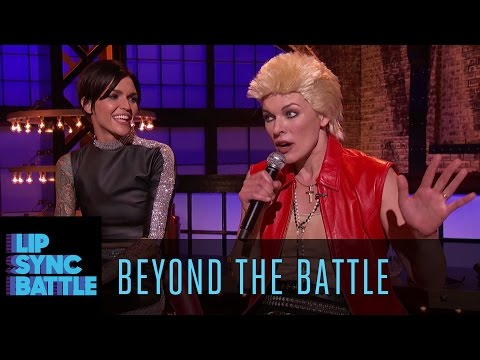 Thumbnail: Beyond the Battle with Ruby Rose & Milla Jovovich | Lip Sync Battle