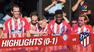 Resumen de RC Celta vs Atlético de Madrid (0-1)