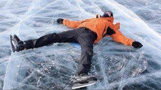 На коньках по льдам Байкала с Бродягами Дхармы | Тизер