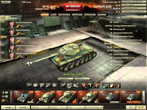 Let's Play + Let's Talk About World Of Tanks #011 [Deutsch][HD] - Mannschaftsskills Crewskills