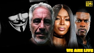 Epstein Secrets Include Naomi Campbell And Chris Tucker, Deep State Wars And Protesters Targeted