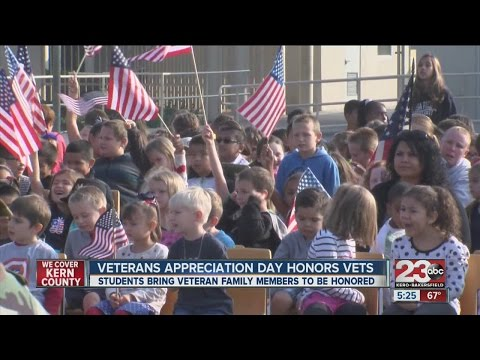 Veteran Appreciation at Quailwood Elementary School