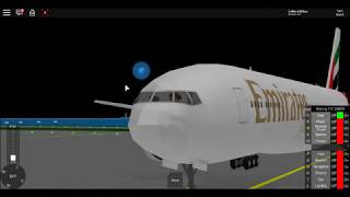 The Flight Of Emirates 562 (ROBLOX FUNNY MOMENTS)