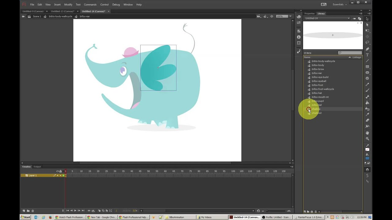 animating graphics