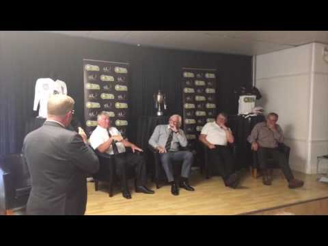 Ray Dutton, Reg Bowden, Stuart Wright, Mal Aspey - Lunch with Legends interview