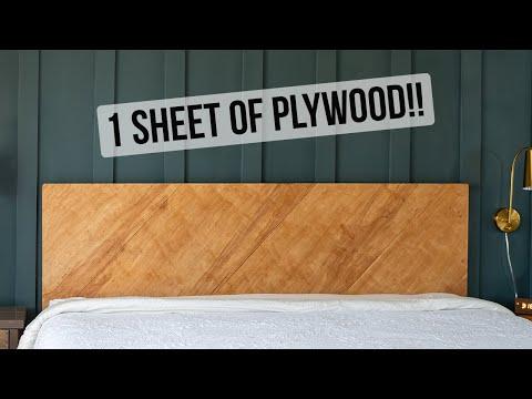 easy-diy-plywood-headboard---modern-wood-headboard---anika's-diy-life
