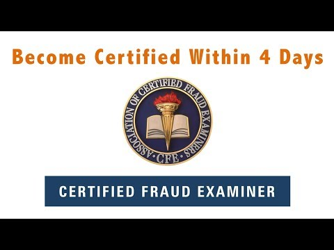 Certified Fraud Examiner (CFE) Exam Review Course