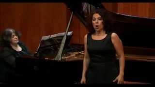 Gloria Londoño. Mignon (Kennst Du das Land) -  Robert Schumann