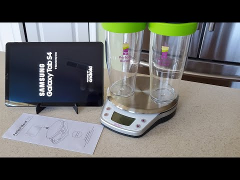 Perfect Blend Pro Scale First Look plus Vitamix Green Smoothie