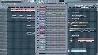 Making Of Hook N Sling feat. Karin Park - Tokyo by Night (Axwell Remix) Fl studio Remake