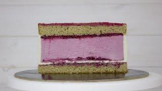 Рецепт торта - Дуэт. Никто не поверил что это домашний торт. Как собрать торт с красивым разрезом