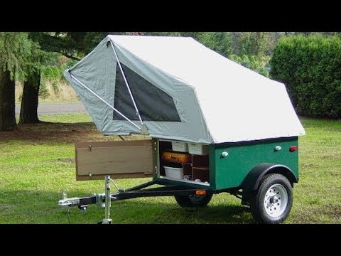 The Explorer Box The Mobile Diy Tent On A Tiny Trailer