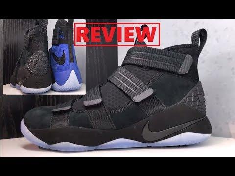c835fa55549 Nike Lebron 11 Soldier Prototype Sneaker Review Comparison VS 10th Model
