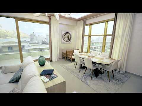 Two bedroom apartment interior design type 1 - Porto Budva Complex