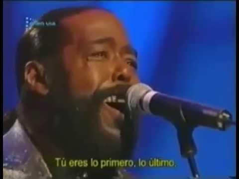 Barri White y Luciano Pavarotti